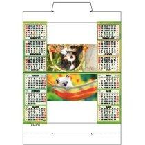 Calendario de sobremesa con motivos estandares personalizados