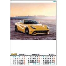 Calendario De Pared Motivos Estándares Con Faldilla Bimensual
