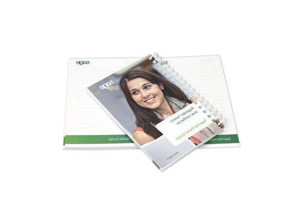 Libreta A6 y 100 hojas de fabricación especial personalizada