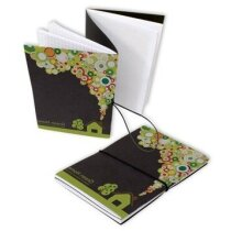 Cuaderno grapado simple o doble personalizado