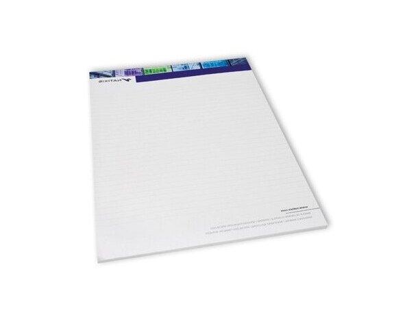 Bloc de notas encolado con base de cartón personalizada