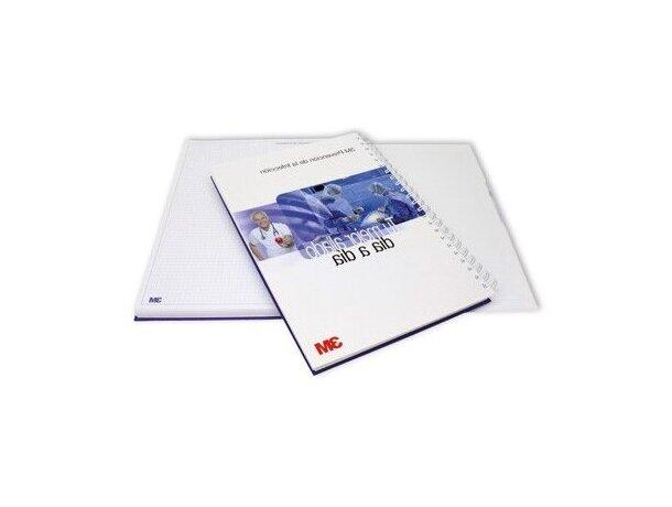 Libreta A4 y 50 hojas con tapas duras personalizada