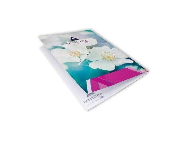 Bloc de Notas con Cubierta Cartón A4 25 Hojas Apertura Lateral personalizada