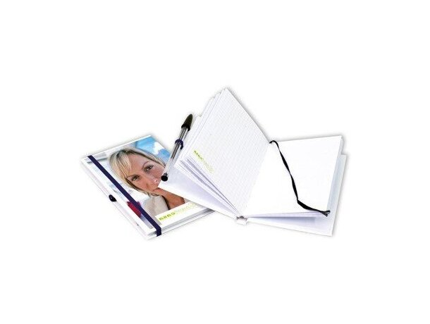 Cuaderno cosido con tapas duras de fabricación