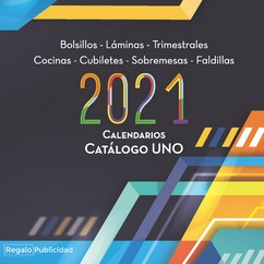 Catalogo calendarios de RegaloPublicidad 2021