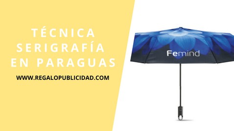 serigrafia paraguas
