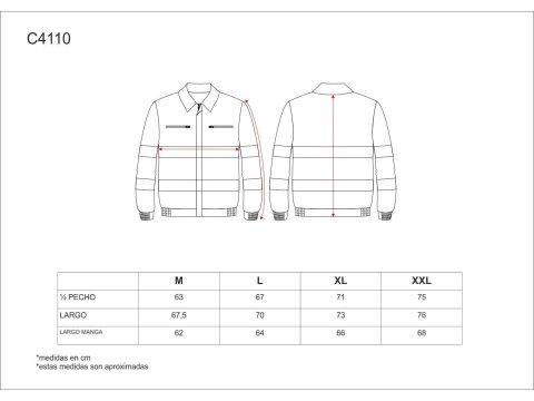 Tabla medidas del producto 65036